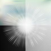 Glow light effect. EPS 10 - stock illustration