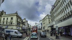 Time lapse of Brighton and Hove Stock Footage