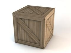 Wooden Crates Mega Pack 3D Model