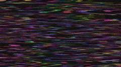 Color Noise Flowing Waves Stock Footage