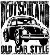 Old vintage car Stock Illustration