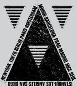 t shirt graphic design - stock illustration