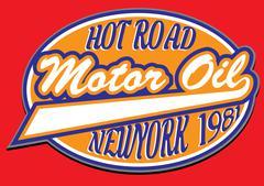 Motorcycle racing typography, t-shirt graphics, vectors Stock Illustration
