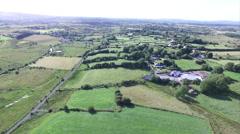 trees farms sunny - stock footage