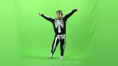 Boy dancing on a green screen, 4k ProRes, 4.2.2 Stock Footage