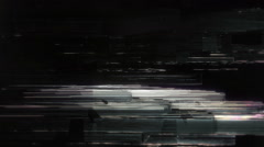 Glitch Geometries Stock Footage