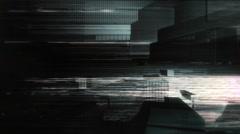Glitch Geometries - stock footage