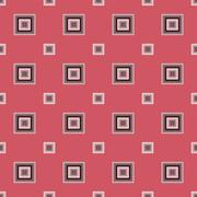 Seamless Abstract Pattern from Rectangles - stock illustration