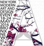 New york typography tee graphic design - stock illustration