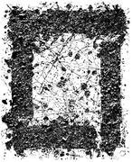 Grunge set stripe. Vector illustration. - stock illustration