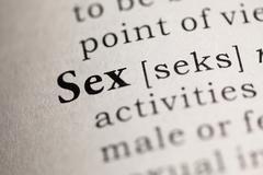 Sex - stock photo