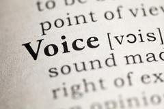 Voice - stock photo