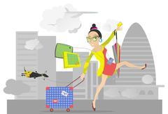 Vacation Stock Illustration
