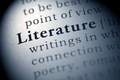 Literature - stock photo