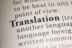 Translation Stock Photos