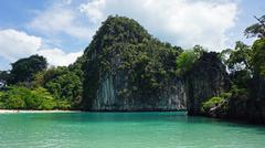 amazing natural island in thailand near ao nang Stock Photos