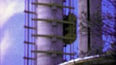1964: Skystreak exterior elevators observation tower EXPO New York World's Fair. Arkistovideo