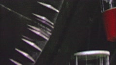 1964: US Royal Giant Rubber Tire EXPO New York World's Fair. Stock Footage
