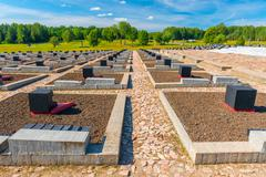 "Memorial complex ""Khatyn"" - a memorial to the hundreds of Belarusian villages Stock Photos"