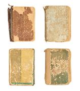 Old decrepit book cover - stock photo