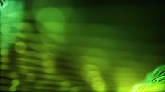 Peaceful Underwater Looking Seamless Loop Motion Background Full HD Green Lemon Stock Footage