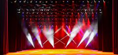 Concert stage - stock photo