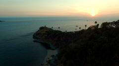 Laem phomthep phuket island andaman sea southern of thailand Stock Footage
