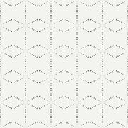 Geometric line monochrome abstract hipster seamless pattern. Wrapping paper Stock Illustration