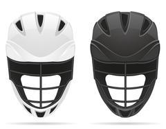 Lacrosse helmets vector illustration Piirros
