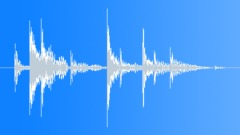 Wood Drop Soft - Single Plank, Drop 07 Sound Effect