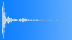 Wood Impact + Metal - Short, Metal Sheet Tail 05 Sound Effect