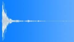 Wood Impact + Metal - Short, Old Door 11 Sound Effect