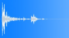 Wood Impact Hard - Resonant, Vibrating Tail 06 Sound Effect