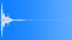 Wood Impact Hard - Short, Slightly Vibrating Tail 04 Sound Effect