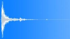 Wood Impact Soft - Short Resonant Tail 01 Sound Effect