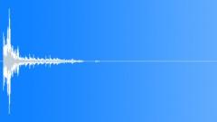 Wood Impact Soft - Short Resonant, Vibrating Tail 01 Sound Effect