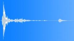 Wood Impact Soft - Short Resonant Wobbly Tail Sound Effect