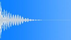 Cardboard Hit 26 Clicky Kick Sound Effect