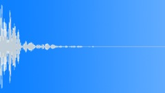 Cardboard Hit 36 High Thud - sound effect