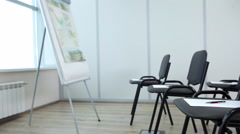 Empty Conference Room - stock footage