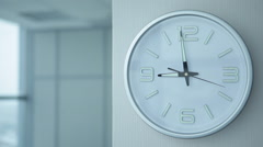 Timelapse of Office Clocks Stock Footage