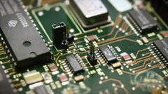 Circuit Board Tech Stock Footage