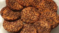 Tasty Cookies rotate 7 Stock Footage