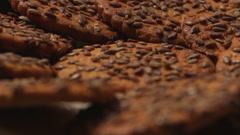 Tasty Cookies rotate 8 Stock Footage