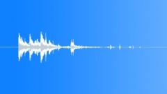 Small Debris and Junk Pile - Debris, Metal, Drop, Short Tail 09 - sound effect
