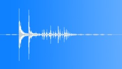 Small Debris and Plastic - Debris, Plastic, Drop, Short 02 Sound Effect