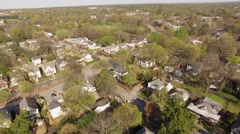 Raleigh, NC Suburbs Aerial - stock footage