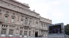 The Teatro Colón, Columbus Theatre, Buenos Aires, Argentina. Stock Footage
