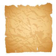 Old paper. Vector illustration. Stock Illustration