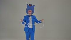 Clown at Studio Stock Footage